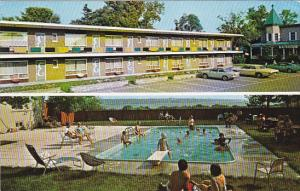 Swimming Pool,  Evelyn Motel,  Beauport,  Quebec,  Canada,   40-60s