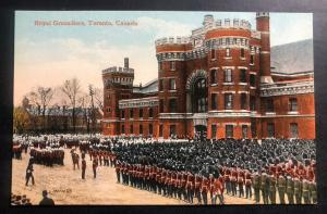 Mint Canada Color Picture Postcard PPC Toronto Royal Grenadiers