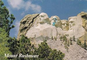 Mount Rushmore Black Hills South Dakota 1990