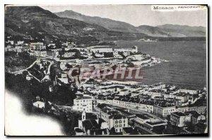 Old Postcard Monaco Principality