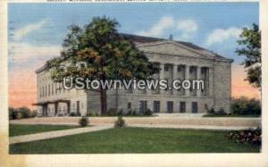 Raleigh Memorial Auditorium Raleigh NC 1944