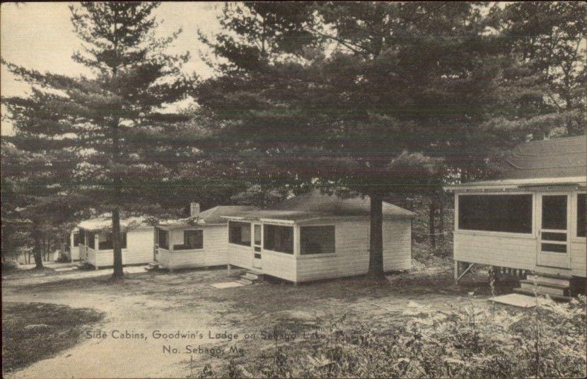 North Sebago ME Goodwin's Lodge Sebago Lake Postcard / HipPostcard