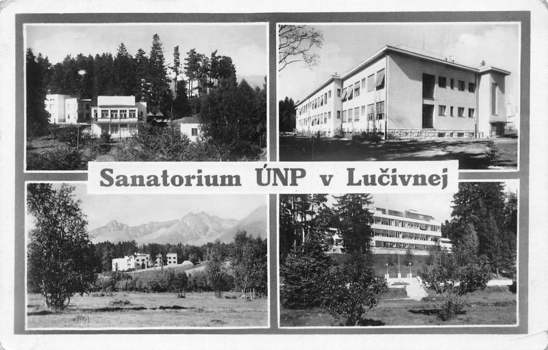 Slovakia Sanatorium UNP v Lucivnej, Lucivna 1954