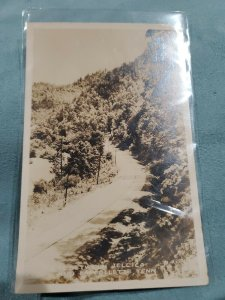 Route 25 Jellico Tennessee RPPC Laffollette TN Vintage Photo Postcard 1940s