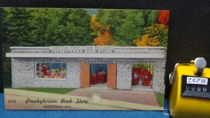 STD Vintage The Presbyterian book Store Montreat North Carolina Unposted Linen