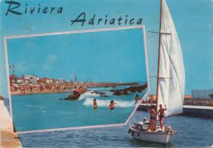 Riviera Adriatica, 1979 used Postcard