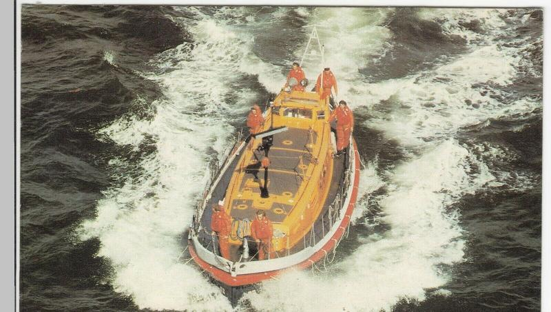RNLI 'Oakley' Class Self Righting Lifeboat No PPC Unposted