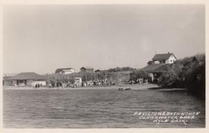 RP, KYLE, Saskatchewan, Canada, 1930s; Pavilion & Bath House, Clearwater Lake