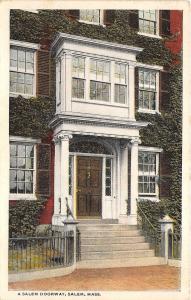 B41436 A Salem Doorway Mass   usa