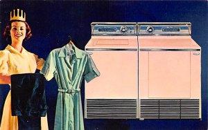 Advertising Post Card Frigidaire Automatic Washers Bettendorf, IA, USA Unused