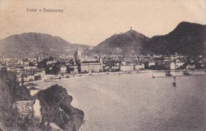 COMO, Lombardia, Italy, 1900-1910's; Panoramic View