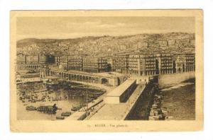 ALGER, Algeria, PU-1921 Vue generale