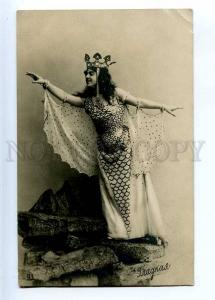 226981 GLADKAYA Russian OPERA Singer MERMAID Vintage PHOTO PC