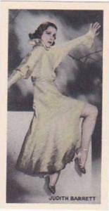 Phillips Vintage Cigarette Card Beauties Of To-Day 1938 No 41 Judith Barrett
