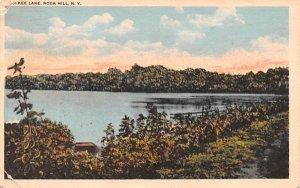 McKee Lake Rock Hill, New York Postcard