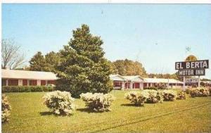 El Berta Motor Inn, US 17, Wilmington, North Carolina, 50-60s