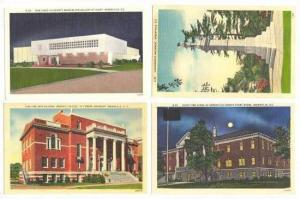 4 Postcards, Greenville, South Carolina, 30-40s