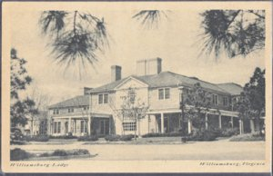 Williamsburg VA -  Williamsburg Inn and Lodge, 1950s