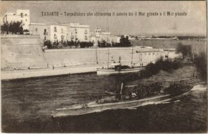 CPA Taranto Torpediniera ITALY (809332)