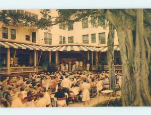 Pre-1980 ENTERTAINMENT AT MOANA HOTEL Waikiki - Honolulu Hawaii HI B2314