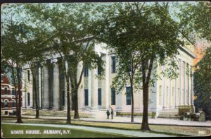 New York ALBANY State House - pm1909 - Divided Back
