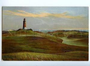 173833 GERMANY LIGHTHOUSE Vintage postcard