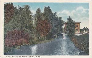 Maine Bridgeton Steam Stevens Brook