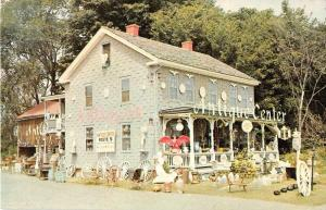 West Springfield Massachusetts Antique Store Vintage Postcard J51429
