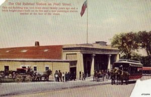 THE OLD RAILROAD STATION ON PEARL STREET NEW BEDFORD, MA