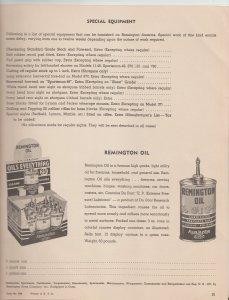 1952 Remington Guns Catalog, Illustrated