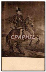 Old Postcard Velazquez Museo Del Prado Madrid Horse