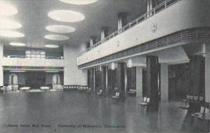 Minnesota Minneapolis Coffman Union Hall University of Minnesota Albertype