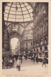 Interno Dello Galleria Vittorio Emanuelle II, MILANO, Lombardia, Italy, 00-10's