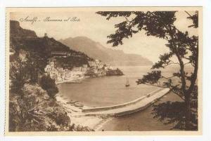 Panorama Col Porto, Amalfi, Salerno (Campania), Italy, 1900-1910s