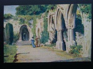 Hampshire New Forest CLOISTERS BEAULIEU ABBEY Artist W.Tyndale c1904 Postcard