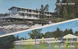 Maine Southport Ship Ahoy And Far East Motel
