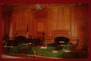 DECLARATION CHAMBER INDEPENDENCE HALL, PHILADELPHIA  SEE SCAN  PC73