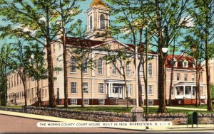 New Jersey Morristown Morris County Court House 1947