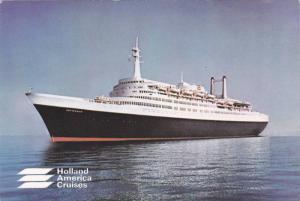 Oceanliner/Steamer/Ship, Holland America Cruises, S. S. Rotterdam, 50-70s