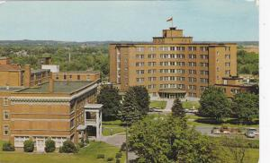 Kitchener-Waterloo Hospital Showing The Nurses Residence In The Left Foregrou...