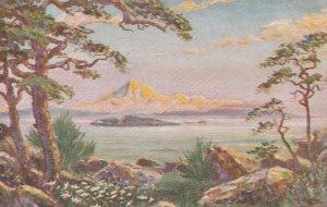 VICTORIA , B.C. , 1900-10s ; Mount Baker from Oak Bay