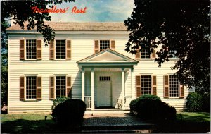 Nashville TN Traveler's Rest Home of John Overton Postcard used 1972