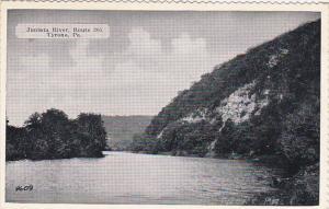 Pennsylvania Tyrone Juniata River Route 305 Dexter Press