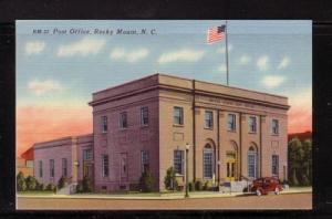 North Carolina colour PC Post Office Rocky Mount