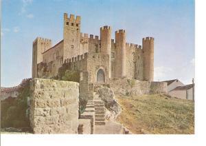 Postal 022767 : Obidos - Portugal, Castle and Inn