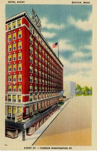 MA - Boston. Hotel Avery