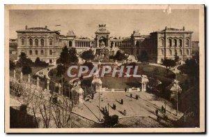 Postcard Old Marseille B R Palais Longchamp
