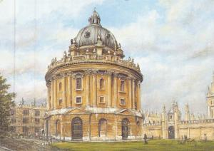 Postcard Art The Radcliffe Camera, Oxford by Sue Firth Large 170x120mm