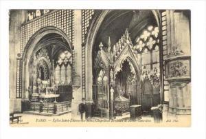 Paris , France, 00-10s   Eglise Saint-Etienne-du-Mont, Chapelle et Tombeau de...
