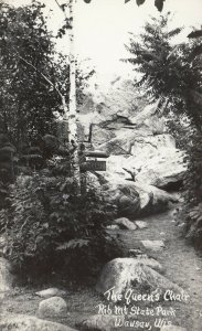 RP: WAUSAU , Wisconsin , 1930-40s ; Queen's Chair, Rib Mt. State Park